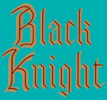 Special Edition Black Knight GOLD Decal Kit