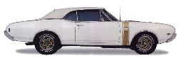 442 Body Decal / Stencil Kit 1968