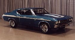 Chevelle Body Decal Kit 1969 Yenko Edition