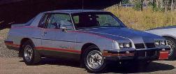 1986 Grand Prix 2+2 Decal / Stripe Kit