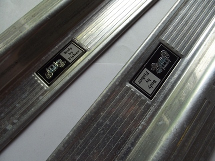1978 - 1987 Sill Plates PAIR