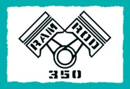 """Cutlass Fender Decals 350 """"Ram Rod"""" 1968"""