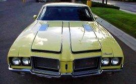 442 Cutlass Hood Decals 1971 1972 W-29