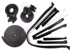 1968 STANDARD Weather Seal Kit 2 Convertible
