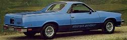El Camino Body Decal Kit 1978 - 1984