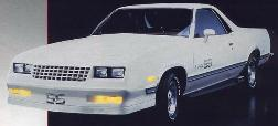 El Camino Body Decal Kit 1984 - 1987 Super Sport