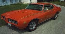 "1969 GTO ""The Judge"" Deluxe Body Decal Kit"