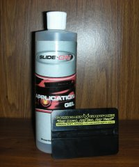 SLIDE ON® Application Gel (pint) Decal Install Gel
