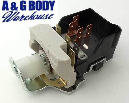 Head Light Switch 63-68 Grand Prix 63 Lemans Tempest