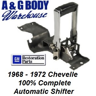 Automatic Shifter Assembly 100% Complete 1968 - 1972 Chevelle