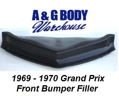 1969 - 1970 Grand Prix Front Bumper Filler