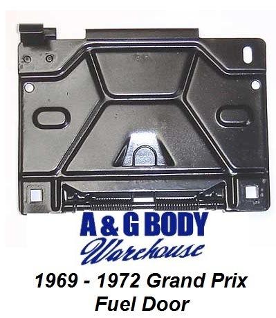 1969 - 1972 Grand Prix Fuel Door