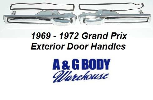 Gbodywarehouse Grand Prix Exterior Moldings Trim 1969 1972 Grand Prix Exterior Door Handles Pair