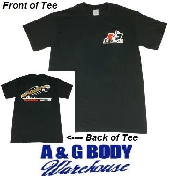 Black Hurst Logo T-Shirt SIX Sizes Available!