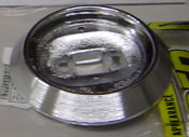 Dome Light Base Chrome