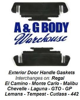 Exterior Door Handle Gaskets