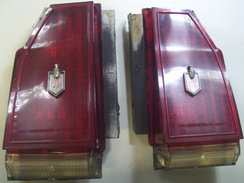 1982 - 1987 Monte Carlo SS Tail Light Lenses