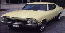 Chevelle Body Decal Kit 1968