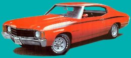 "Chevelle Body Decal Kit 1971 1972 ""Heavy Chevy"""