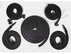 1966 - 1967 STANDARD Weather Seal Kit 2 Door Hardtop