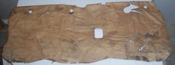 1982 - 1987 Monte Carlo SS Door Panel Tar Back Papers