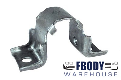 1970 - 1981 Front Suspension Sway Bar Bushing Mounting Braces PAIR NEW