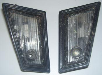 1982 - 1987 Monte Carlo SS License Plate Light Lenses