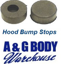 Hood Bump Stop Kit 2 pc Chevelle Monte Carlo Nova