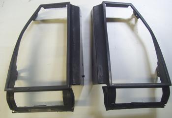 1982 - 1987 Monte Carlo SS Tail Light Lens Bezels